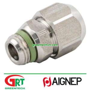 61005   Aignep   Threaded fitting / straight / for compressed air / hydraulic  Aignep Vietnam