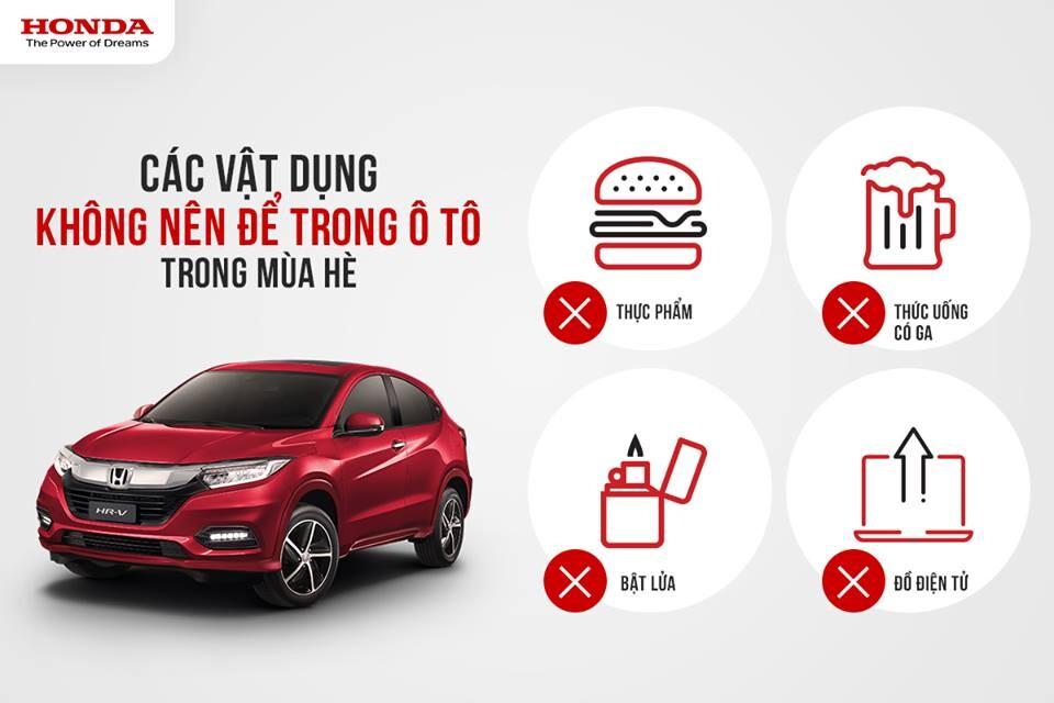 Những lưu ý khi sử dụng và bảo quản xe Ôtô vào mùa hè - Honda Ôtô Hà Tĩnh 5S - Hình 1