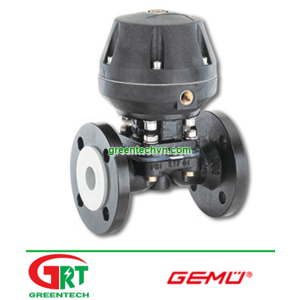620 | Gemu 620 | Van màng điều khiển bằng khí nén 620 | Gemu Vietnam