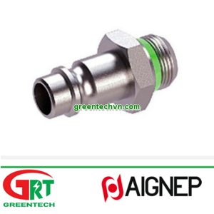 63260   Aignep   Threaded plug / male / stainless steel / for tubes   Aignep Vietnam