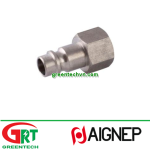 63262   Aignep   Threaded plug / female / stainless steel / for hoses   Aignep Vietnam