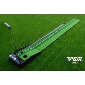 Thảm Putting Golf Nhựa Đen - Thảm Tập Putt Tại Nhà Nhỏ Gọn, Tiện Lợi