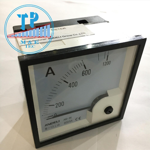 Đồng hồ Ampe 600/5A