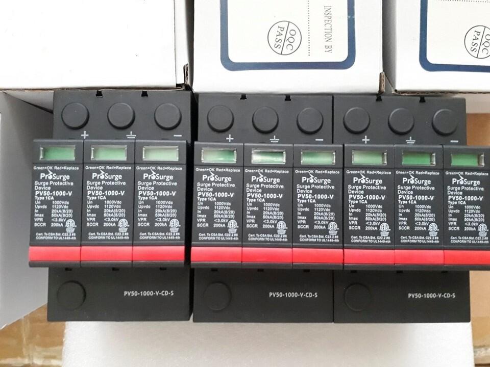 Chống sét lan truyền Prosurge 1000VDC Solar 50kA PV50-1000-V-CD-S