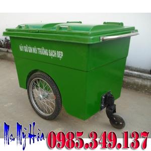 GIÁ Xe đẩy rác 660 lít bánh căm (hơi) trên toàn quốc