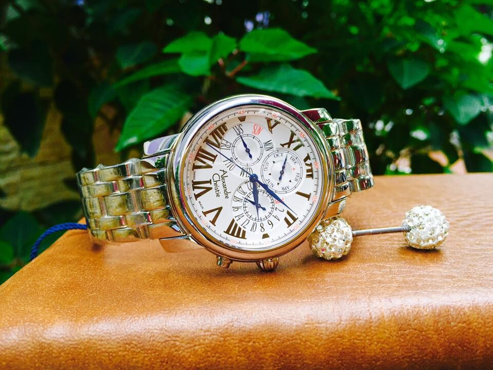 Đồng hồ nam chính hãng Alexandre Christie 6C01A-MSSCR-T