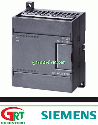 6ES7231-0HC22-0XA8  SIMATIC S7-200, ANALOG INPUT EM 231, FOR S7-22X CPU ONLY, 4 AI, 0 - 10V DC,