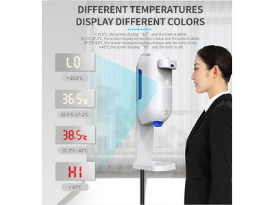 Máy phun nước rửa tay có đo thân nhiệt trán L5 Plus (Kr5)