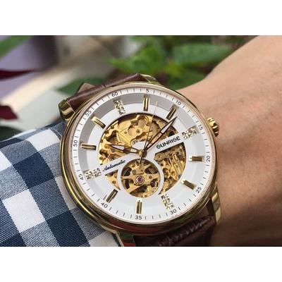 Đồng hồ nam sunrise 7001sa - mlkt chính hãng