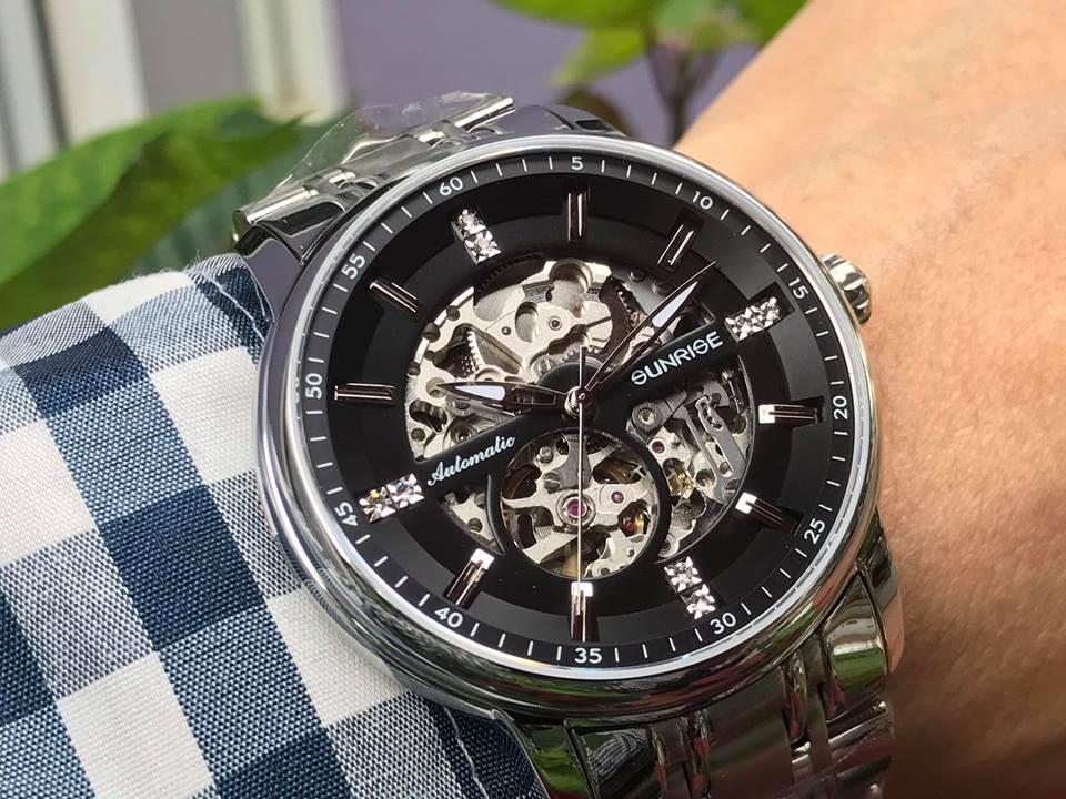Đồng hồ nam sunrise 7001sa - mssd chính hãng