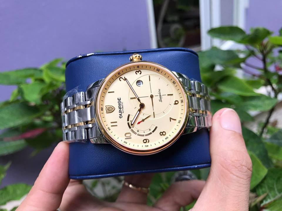 Đồng hồ nam sunrise 7001sb - mskv chính hãng