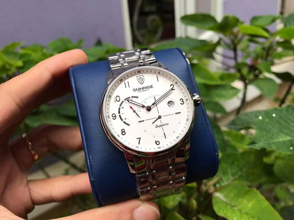 Đồng hồ nam sunrise 7001sb - msst chính hãng