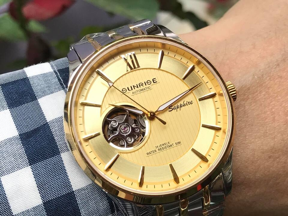 Đồng hồ nam sunrise 7002sa - mskv chính hãng
