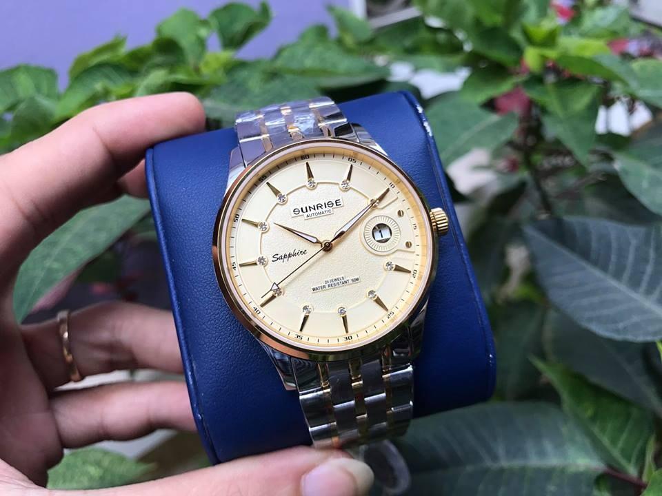 Đồng hồ nam sunrise 7002sb - mskv chính hãng