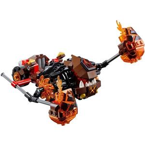 Đồ chơi mô hình LEGO NEXO KNIGHTS - Cỗ Máy Phá Hủy Của Moltor - 70313