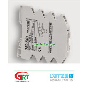750540   Universal signal converter   Bộ chuyển đổi tín hiệu đa năng   Lutze Việt Nam