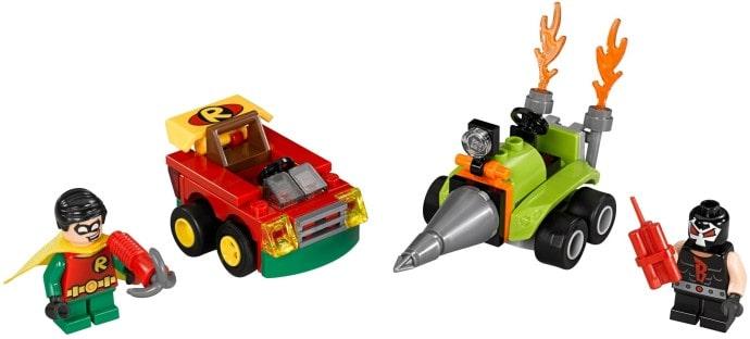 Đồ chơi mô hình LEGO SUPERHEROES - Robin Đại Chiến Bane - 76062