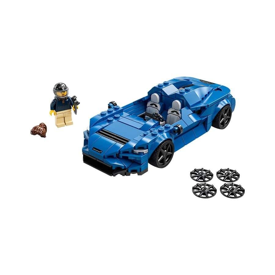 Đồ chơi mô hình LEGO SPEED CHAMPIONS - Siêu Xe Mclaren Elva - 76902