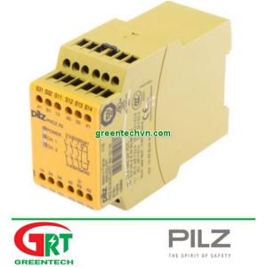 774318   Pilz 774318   PNOZ X3 230VAC 24VDC 3n/o 1n/c 1so Screw terminal 45.0 mm 187,50