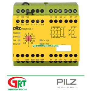 774530   Pilz 774530   Rơ le an toàn PNOZ XV3.1 30/24VDC 3n/o 1n/c 2n/o   Pilz Vietnam