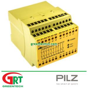 774703 PNOZ X10 110-120VAC 6n/o 4n/c 3LED Screw terminal 90.0 mm 351,60