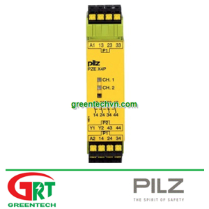 787585   Pilz   expansion; Series: PZE X4P C; Inputs:1; Outputs:4; IP40   Pilz VietNam