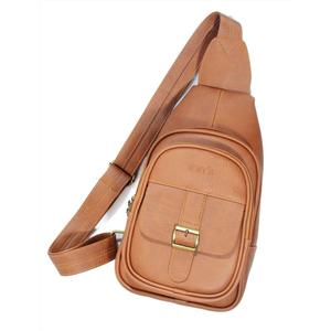Túi da đeo chéo CNT unisex MQ12 phong cách hàn quốc Bò Đậm