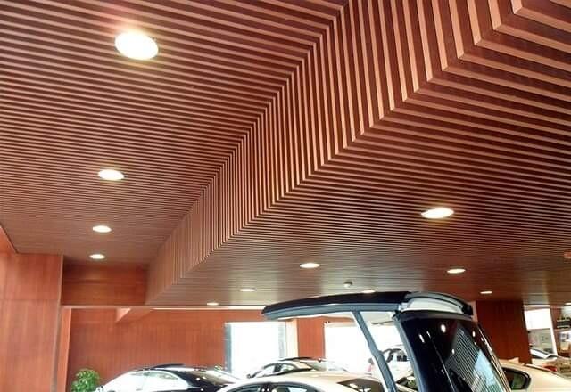 Trần gỗ nhựa composite