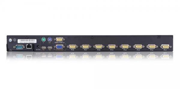 8 port USB VGA KVM over IP Switch - XM0108i