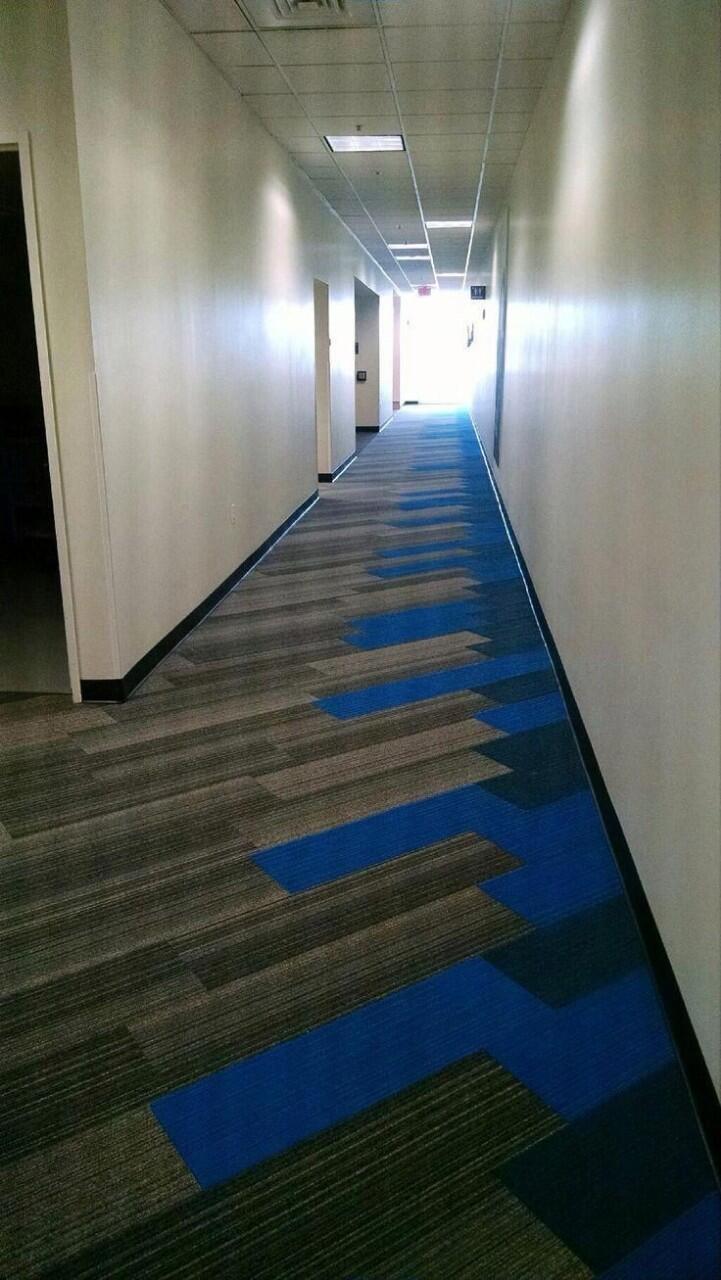 Hành lang khách sạn lótthảm trải sàn tại Đà Nẵngrất đẳng cấp