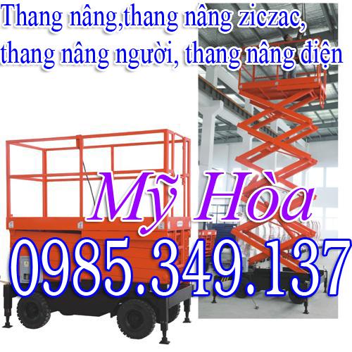 Thang nâng ziczac 300kg - 1000kg