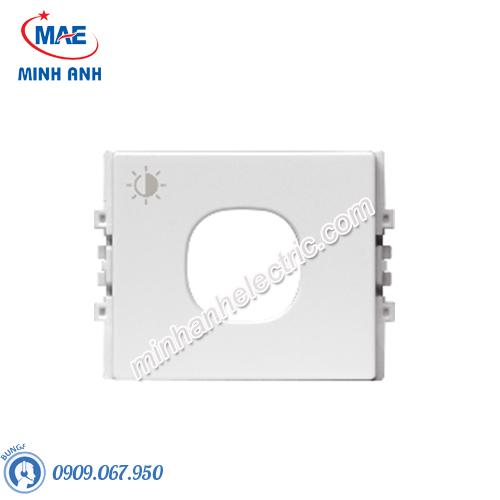 Phím che cho dimmer đèn size M màu trắng-Series Zencelo A - Model 8430MDRP_WE
