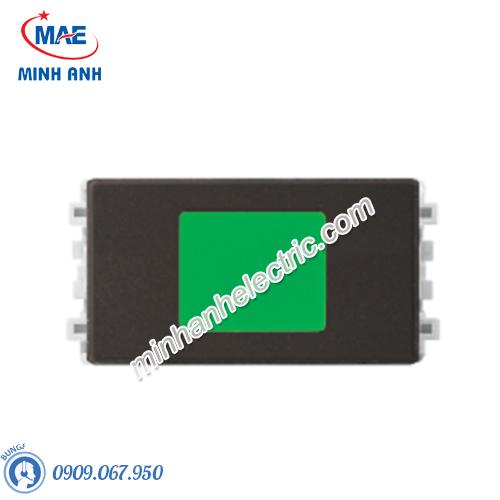 Đèn báo xanh màu đồng-Series Zencelo A - Model 8430SNGN_BZ_G19