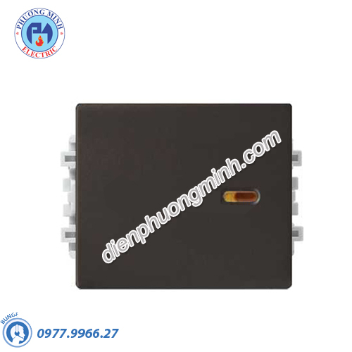 Công tắc 1 chiều size M màu đồng - Model 8431M_1_BZ_G19