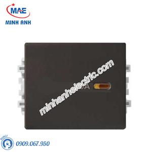 Công tắc 2 cực size M màu đồng-Series Zencelo A - Model 8431MD20_BZ_G19