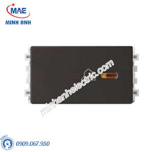 Công tắc KHÔNG LÀM PHIỀN màu đồng-Series Zencelo A - Model 8431SDND_BZ_G19