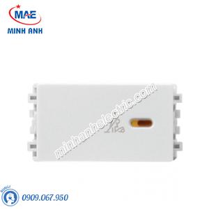 Công tắc XIN DỌN PHÒNG màu trắng-Series Zencelo A - Model 8431SPCU_WE_G19