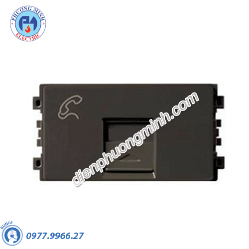 Ổ Điện thoại size S màu đồng - Model 8431SRJ4_BZ_G19
