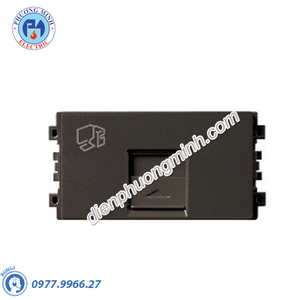 Ổ Data CAT6 size S màu đồng - Model 8431SRJ6_BZ_G19