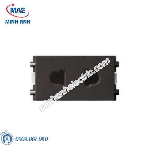 Ổ cắm đơn 2 chấu size S màu đồng-Series Zencelo A - Model 84426SUS_BZ_G19
