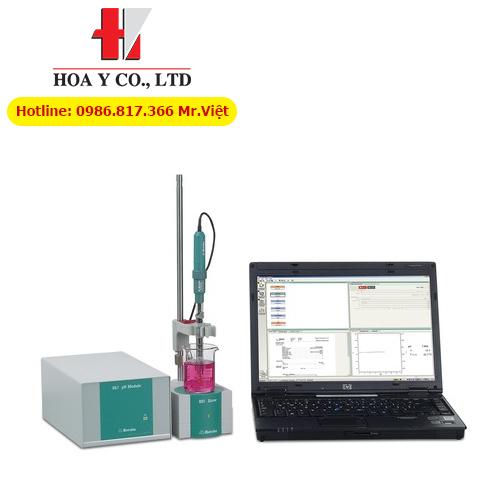 Máy đo độ dẫn điện 856 Conductivity Module với phần mềm tiamo light