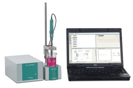 Máy đo pH module 867 với phần mềm tiamo light