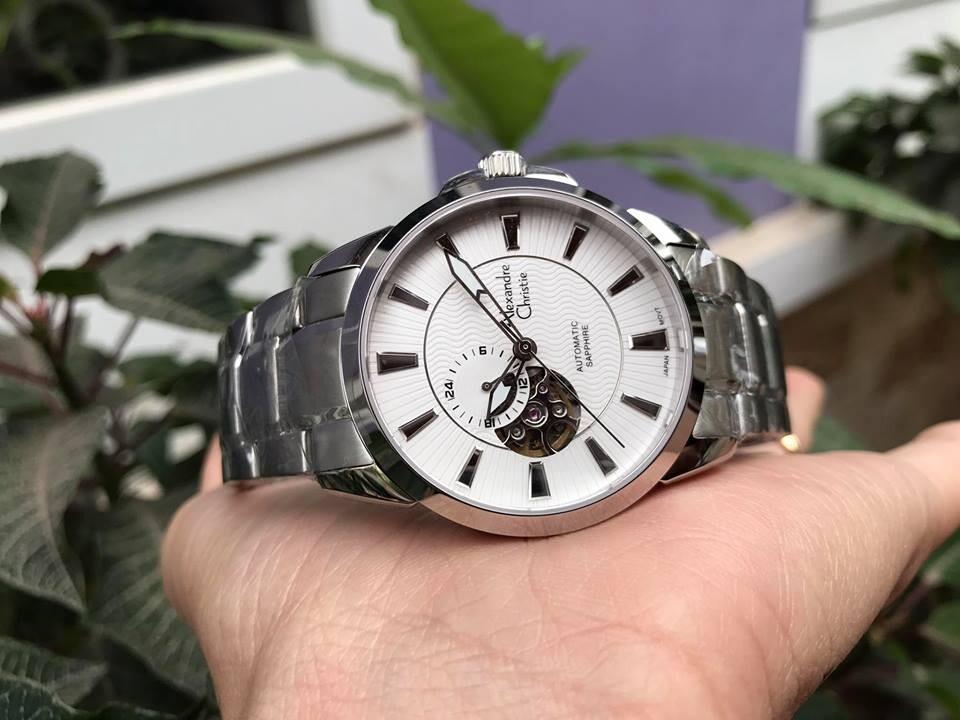 Đồng hồ nam alexandre christie 8a198a - msscr chính hãng