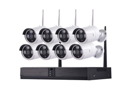 8CH H.264 2.0Megapixels 1080P WIFI Security Camera Kit SV08ZP