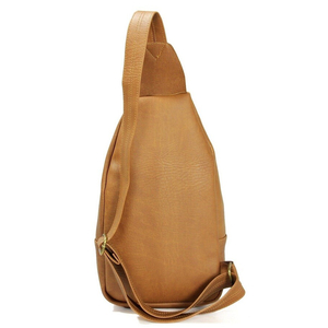 Túi da đeo chéo CNT unisex MQ11 phong cách hàn quốc Bò Lợt