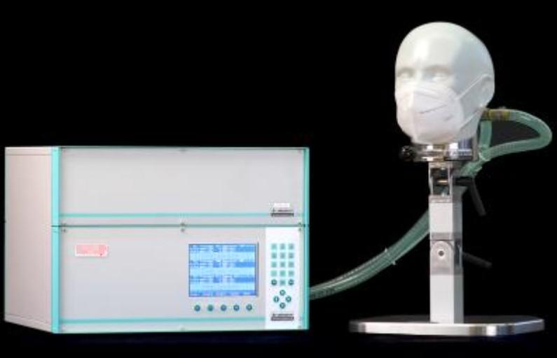 Máy kiểm tra trở lực hô hấp khẩu trang