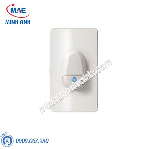 Nút nhấn chuông IP44, màu trắng-Series Concept - Model A3031WBP_WE_G19