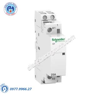 Contactor iCT 1P, coil voltage 230/240VAC, 25A 1NO - Model A9C20731
