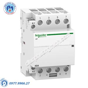 Contactor iCT 4P, coil voltage 230/240VAC, 40A 4NO - Model A9C20844