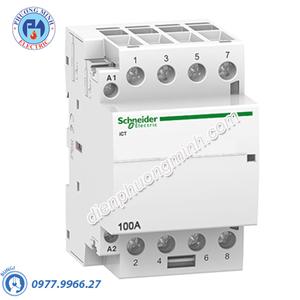 Contactor iCT 4P, coil voltage 230/240VAC, 100A 4NO - Model A9C20884